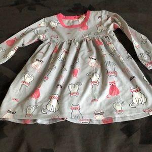 Cat dress size 18 months